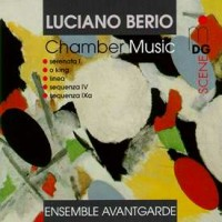 Purchase Ensemble Avantgarde - Luciano Berio : Chamber Music 1957-1980