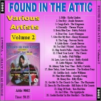 Purchase VA - Found In The Attic, Vol. 2