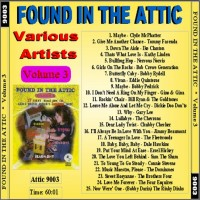 Purchase VA - Found In The Attic, Vol. 3