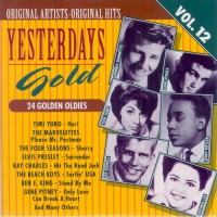 Purchase VA - Yesterdays Gold (24 Golden Oldies) Vol.12