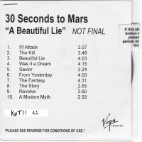 Purchase 30 Seconds To Mars - A Beautiful Lie (Unmastered Advance)