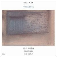 Purchase Paul Bley - Fragments