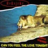 Purchase Harajuku - Can You Feel The Love Tonight
