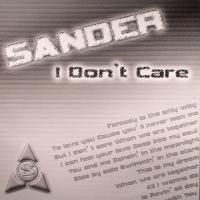 Purchase Sander - I Don't Care (Single)
