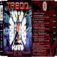 Purchase Taboo - I Dream Of Youi Tonight (Single)