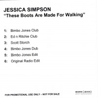 Purchase Jessica Simpson - These Boots Are Made For Walki n' (Maxi)