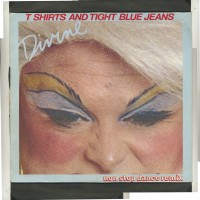 Purchase Divine - T-Shirts & Tight Blue Jeans