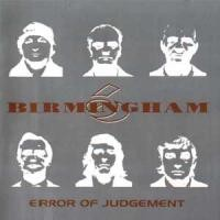Purchase Birmingham 6 - Error Of Judgement