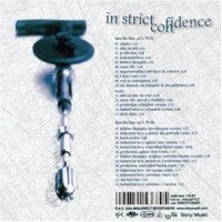 Purchase In Strict Confidence - Face The Fear CD2