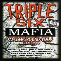 Purchase Three 6 Mafia - Underground, Vol. 1: 1991-1994