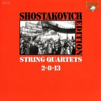 Purchase Dmitri Shostakovich - Shostakovich Edition: String Quartets 2-8-13