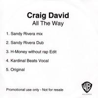 Purchase Craig David - All The Way (CDS)