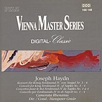 Purchase Franz Joseph Haydn - Concerto For King Ferdinand Of Naples No. 1-4