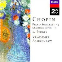 Purchase Frederic Chopin - Piano Sonatas, Etudes (Vladimir Ashkenazy)