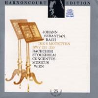 Purchase Johann Sebastian Bach - Die 6 Motetten BWV 225-230 (Harnoncourt)
