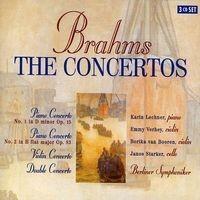 Purchase Johannes Brahms - The Concertos (BOX SET)