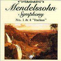 Purchase Felix Mendelssohn Bartholdy - Symphony No. 1 & 4 \'Italian'