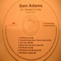 Purchase Sam Adams - All I Need to Say CDM