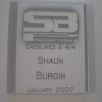 Purchase Shaun Burgin - Shaun Burgin-Basslines & 4x4 January 2007 Bootleg