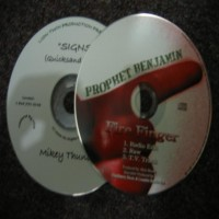 Purchase Prophet Benjamin - Fire Finger-Promo CDS