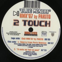 Purchase 2 Touch - Blue Monday-(nw06-10-006) Viny