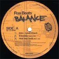 Purchase Ras Beats - Balance (Vinyl)