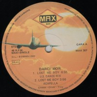 Purchase Darci' Mor - Lost Me Boy (MAX367)