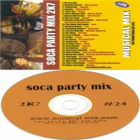 Purchase VA - DJ Musical Mix-Soca Party Mix 2k7 Pt 24