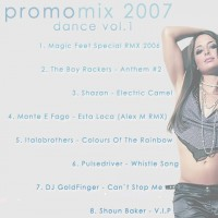 Purchase VA - promomix 2007 dance vol. 1 (mixed by dj anti) CDR
