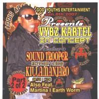 Purchase VA - Vybz Kartel In Concert-Sound Trooper And Killamanjaro Pt 2