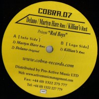Purchase Delano - Red Boys-(COBRA.07) Vinyl
