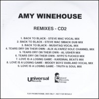 Purchase Amy Winehouse - Back to Black (Remixes)