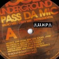 Purchase Hoodz Underground - Pass Da Mic BW History-HOODZ12 Vinyl