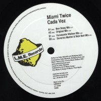 Purchase Miami Twice - Cada Vez-(lme002-07) Vinyl
