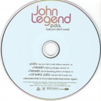 Purchase John Legend - P.D.A. (We Just Don't Care) (UK CDM)