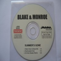 Purchase Blake & Monroe - Summer's Gone CDS