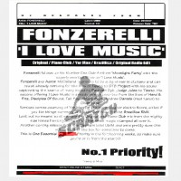Purchase Fonzerelli - I Love Music CDM