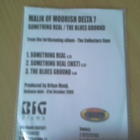 Purchase Malik - Something Real BW the Blues Ground