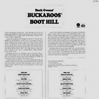 Purchase Buck Owen's Buckaroos - Boot Hill (Capitol ST 550)