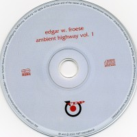 Purchase Edgar W. Froese - Ambient Highway Vol. 1 CD1