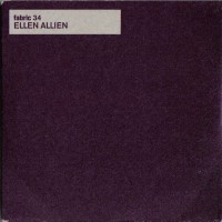 Purchase VA - Fabric 34 Mixed By Ellen Allien CDS
