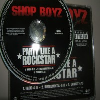 Purchase Shop Boyz - Party Like A Rockstar (Promo CDS)-Proper