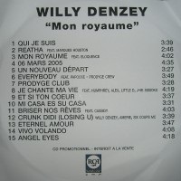 Purchase Willy Denzey - Mon Royaume (Rerip)