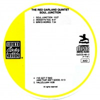 Purchase Red Garland Quintet - Soul Junction