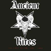 Purchase Ancient Rites - The First Decade 1989 - 1999