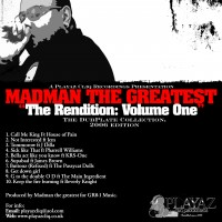 Purchase Madman the greatest - The Rendition (Dubplate Album
