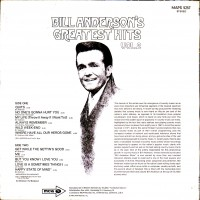 Purchase bill anderson - Bill Anderson's Greatest Hits Vol 2
