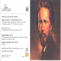 Purchase Tchaikovsky, Peter Ilyich - Great Composers Tchaikovsky Disc 1