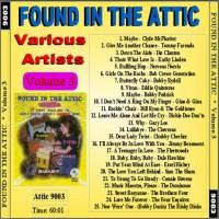 Purchase VA - Found In The Attic, Vol. 3