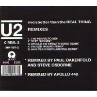 Purchase U2 - Even Better Than The Real Thing - Remixes